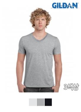 [길단 GILDAN] 30수 V넥 티셔츠 SOFT STYLE (150g)