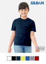 [길단 GILDAN] 기능성 아동용 반팔티 PERFORMANCE (155g)